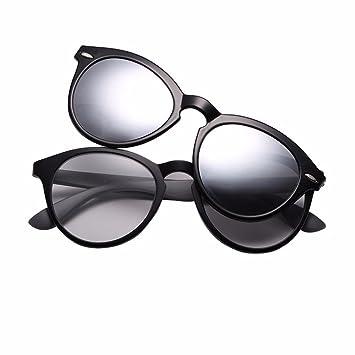 TYJshop Gafas De Sol para Hombre Y Mujer con Clip Magnético ...