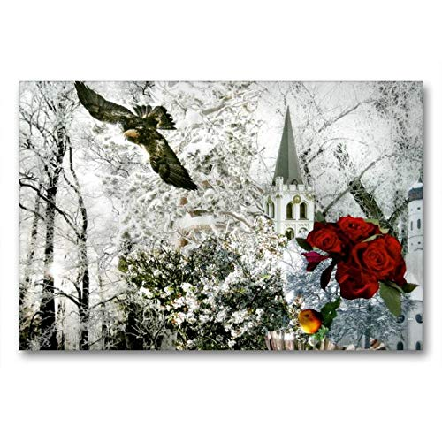CALVENDO Art Toile en Textile de qualité supérieure Motif Paysage de Conte de fées 90 x 60 cm
