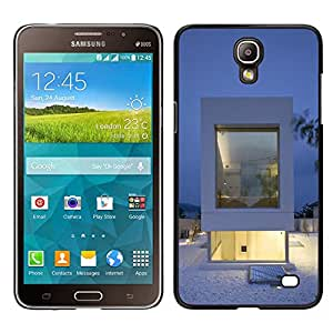 "For Samsung Galaxy Mega 2 , S-type Arquitectura Blanca minimalista"" - Arte & diseño plástico duro Fundas Cover Cubre Hard Case Cover"