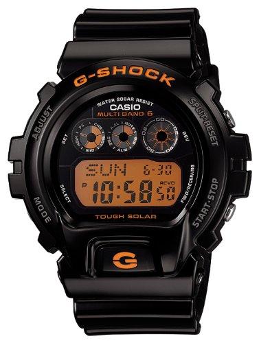 Black G-Shock Multi Band Tough Solar Strap