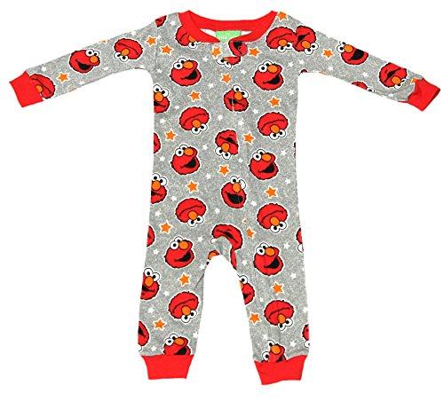 Sesame Street Infant Blanket Sleeper (Red, 24 Months)