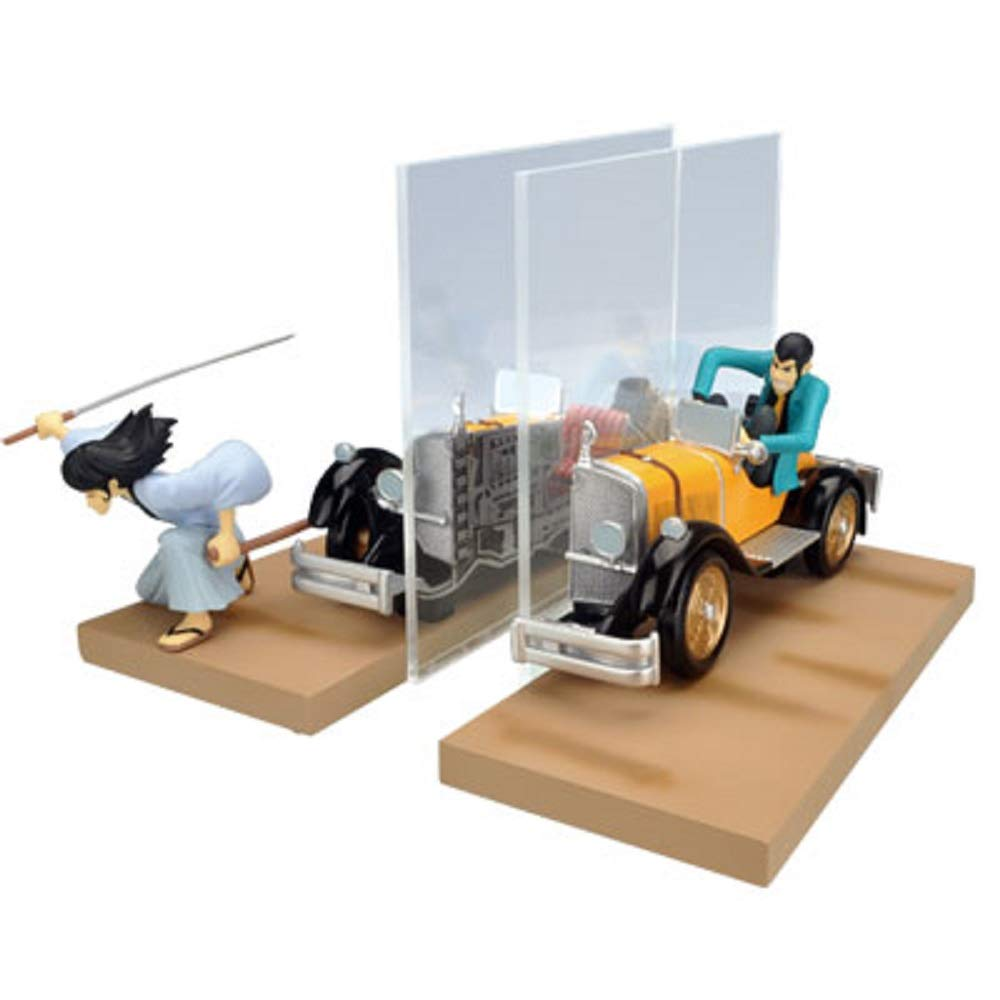 Five ~E gate split in two mini bookend III 1st. C lottery prize DX Lupin most (japan import)