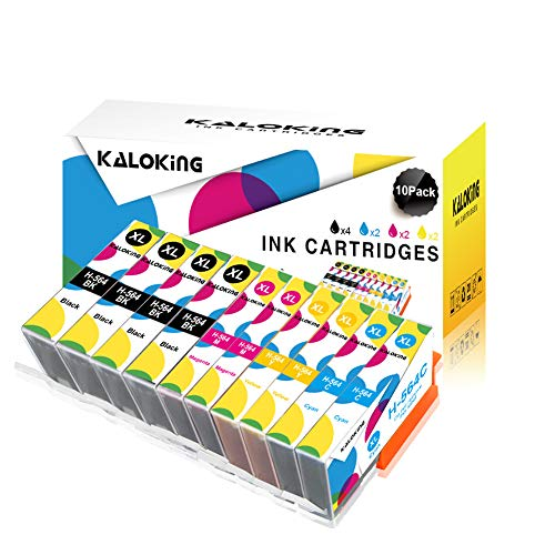 Kaloking Compatible Ink Cartridge Replacement for HP 564 XL 564XL Combo Pack for use with HP Photosmart 3520 5520 5510 5514 6510 6520 6515 7520 7510 7525 B8550 C6380 D7560 Premium 209A C309A (Hp Photosmart Premium Ink)