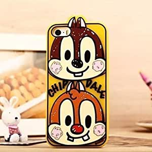 LIMME Squirrel Design Silicone Soft Case for iPhone 5/5S