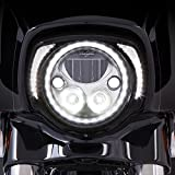 Ciro 45201 Headlight Bezel (Gloss Black For 2014-2016 Flh Models)