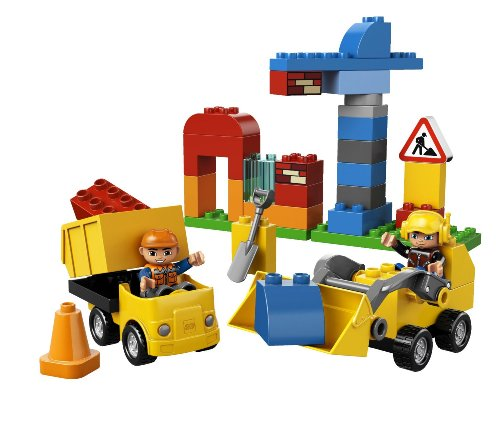 LEGO DUPLO Town 10518 My First Construction Site Building Set(Discontinued by manufacturer)