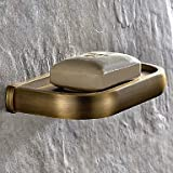 DIDIDD Shelf-Antique Brass Finish Brass Material Soap Dishes