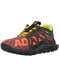 Adidas Boys' Vigor Bounce j, Hi-Res Red/Core Black/Slime, 5 M US Big Kid
