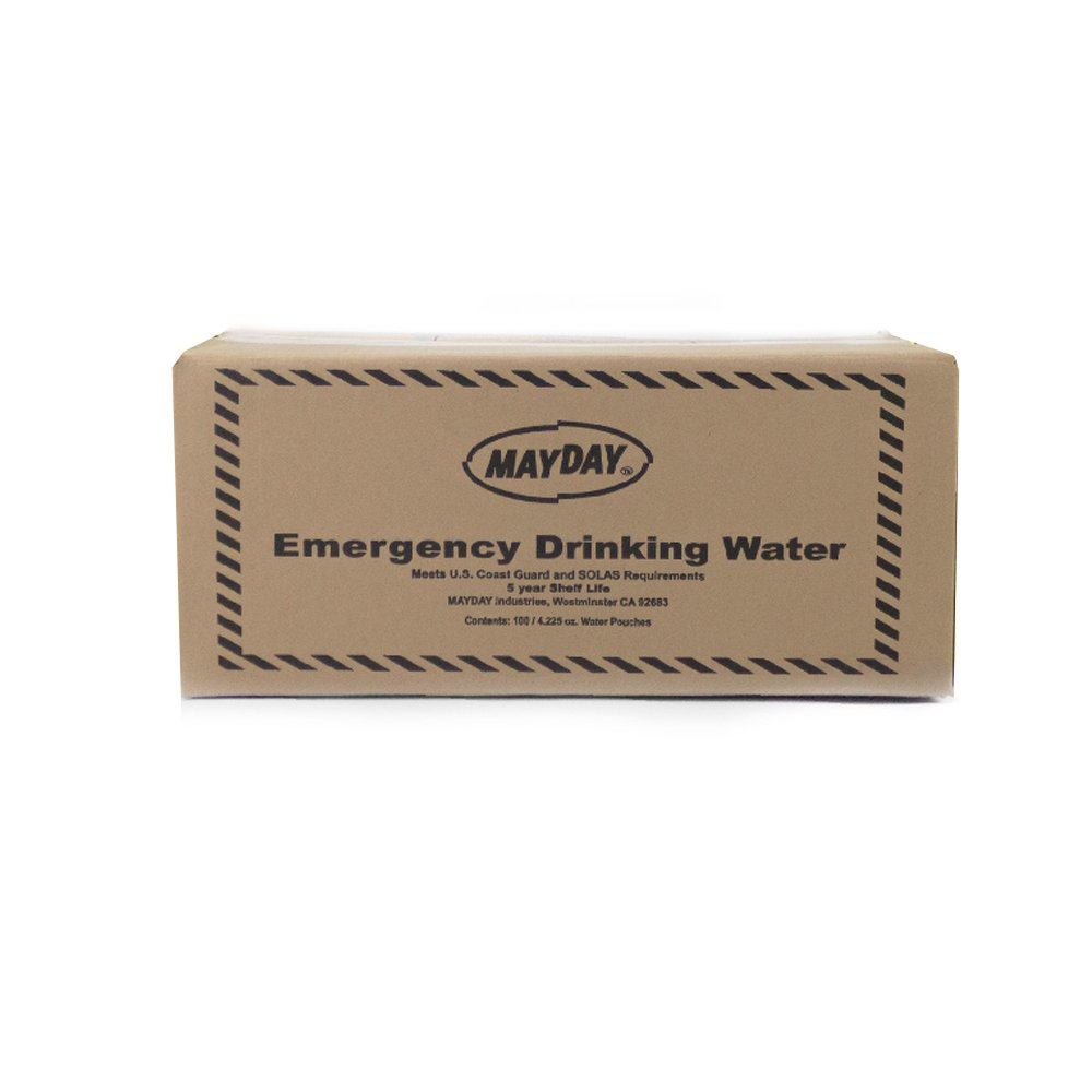 73011 Mayday Pouch Water 4.225 Oz/125Ml 100 Pack