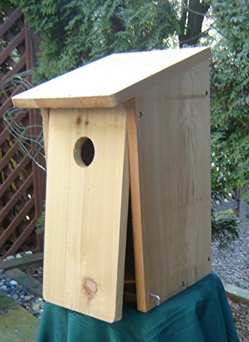 Flicker Bird House Kit by I Can Build It - Attract Flickers to Nest in your Yard ...