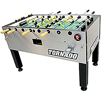 Tornado T-3000 Coin Foosball Table Single Goalie