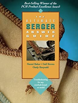 the ultimate serger answer guide troubleshooting for any overlock rh amazon com Pic Art of the Number 42 42 Meaning of Life