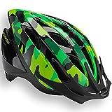 Schwinn Thrasher Bike Helmet, Lightweight Microshell Design, Child, Green Camo