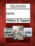 Lyrics, William B. Tappan, 127581882X
