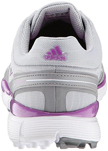 adidas Womens W Adizero Sport III Golf Shoe Clear Onix/Running White/Flash Pink OEyaZQvhvs