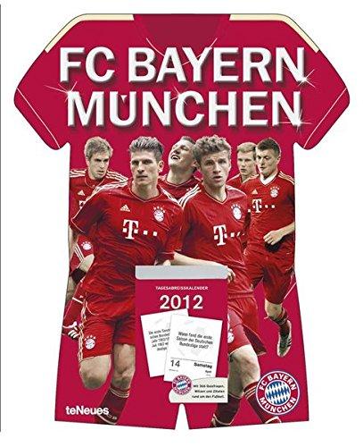 FC Bayern München 2012 Tagesabreißkalender