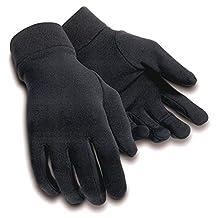 Tourmaster Fleece Glove Liner Black Sml Md