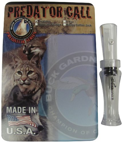 Buck Gardner Calls Distressed Rabbit Call and Mouse Squeaker