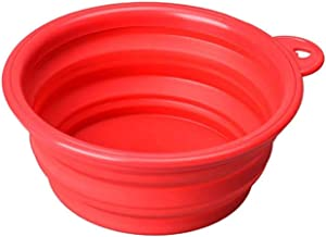 I Luv My Mutt Collapsible Food and Water Travel Bowl for Dogs, Cats (Single Count)