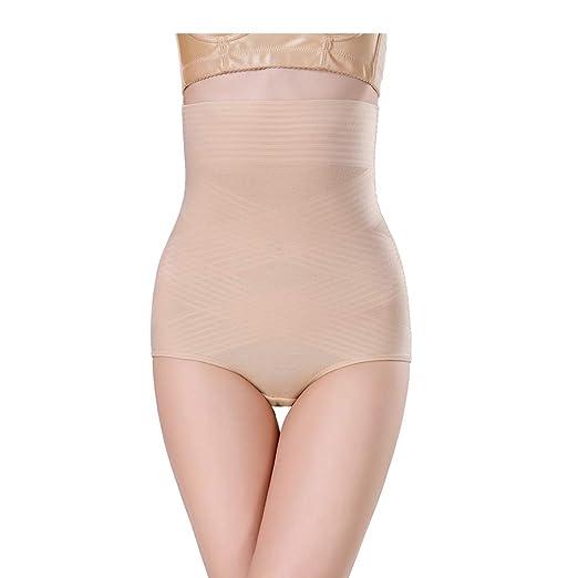 42280ffe4a moonlight elves Women s Bodysuit Shaper High Waist Butt Lifter Tummy  Control Slimming Panties (Beige
