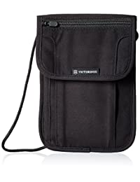 Victorinox 31171901 Estuche de Seguridad de Lujo con Protección RFID, color Negro