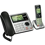 VTech CS6649 DECT 6.0 Expandable Corded/Cordless Phone with Answering System and Caller ID/Call