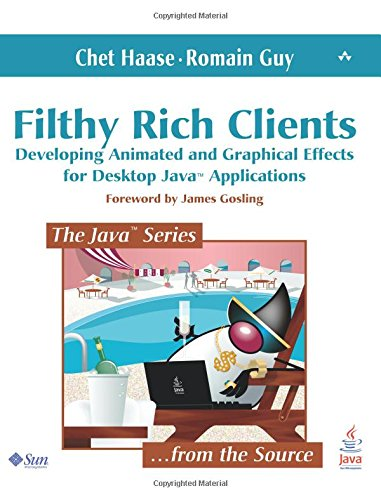 Filthy Rich Clients: Developing Animated and Graphical Effects for Desktop Java Applications by Haase, Chet/ Guy, Romain