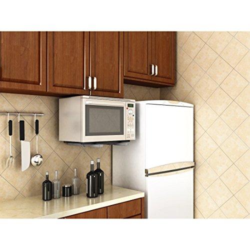Xavax 00110931 - Soporte para microondas, color plateado