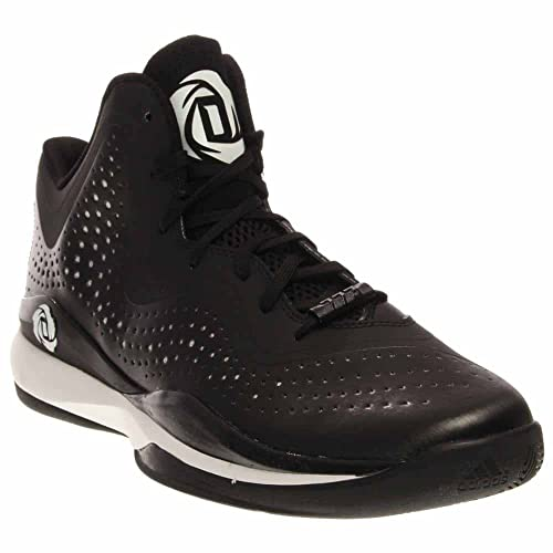 Adidas Rose 773 III Mens Basketball Shoe 115 BlackWhite