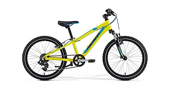 Merida bicicleta infantil de Matt J20 Matt Yellow (Blue/Green ...