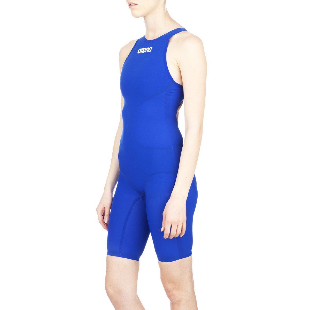 Image of Arena Women's Powerskin R Evo+ Full Body Short Leg Swimsuit, 30, Electric Blue