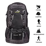 60 L Waterproof Ultra Lightweight Packable Climbing Fishing Backpack Hiking...
