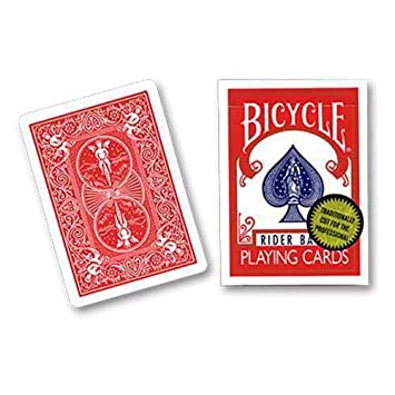 Bicycle Playing Cards (Gold Standard) - Red back by Richard ...