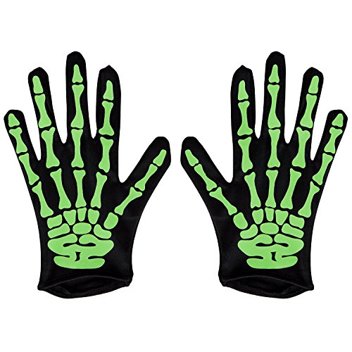 Of Dead The Day Costumes Toddler (L&ZZ Halloween Accessories - Skeleton Gloves for)