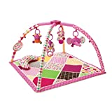 Infantino Sweet Safari Twist and Fold Activity Gym and Play Mat