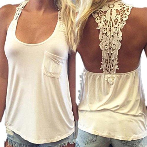 Lace Back Vest - 2