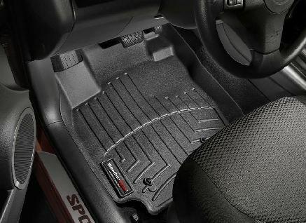 (2006-2012 Toyota RAV4 Black WeatherTech Floor Liner (Full Set) [No 3rd Row Seating] )