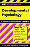 CliffsQuickReview Developmental Psychology, Cliffs Notes Staff and George D. Zgourides, 0764586149