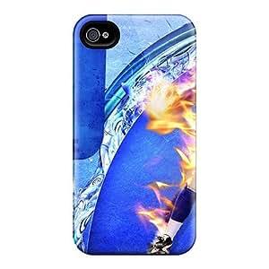 Slim New Design Hard Case For Iphone 4/4s Case Cover - TerUMQO6799PqBKR