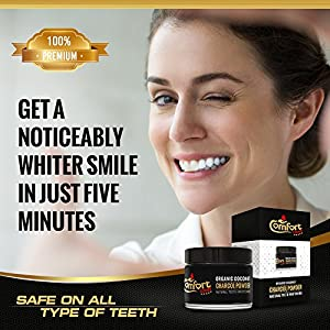comfort lover Teeth Whitening Charcoal Powder Natural