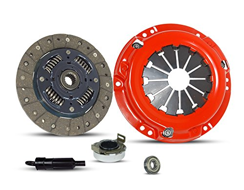 Clutch Kit Works With Suzuki Samurai Sidekick JL JA JS JX SE Base Sport Utility 2-Door 1986-1995 1.3L l4 GAS SOHC Naturally Aspirated (Stage 1)