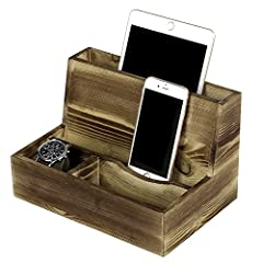 Rustic Torched Wood Smartphone