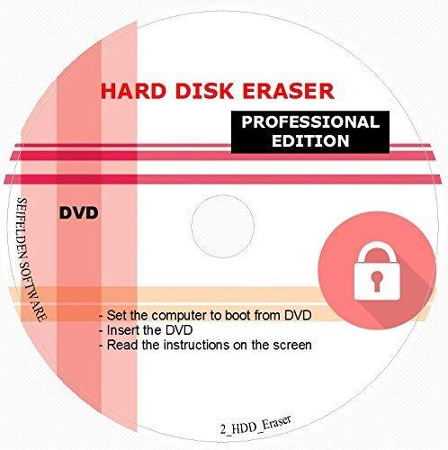 Software : Professional Hard Drive Eraser / Wiper CD Disc Disk 32/64Bit [Windows - Linux - Mac]