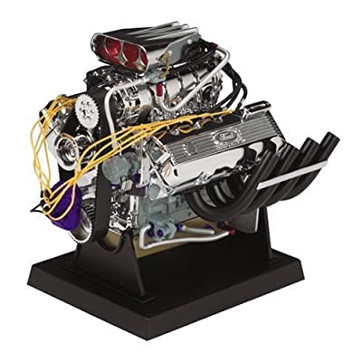Liberty Classics Ford Top Fuel Dragster Engine Replica, 1/6th Scale Die Cast: Automotive
