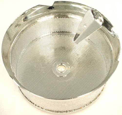 Paderno World Cuisine Sieve for 15-Quart Tin Food Mill with 1/16-Inch Perforations