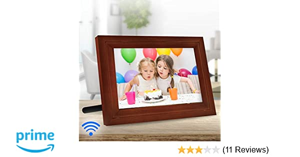 Amazon.com : iCozy Digital Touch-Screen Wi-Fi Enabled Picture Frame ...