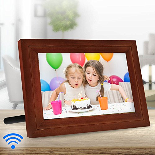 iCozy Digital Touch-Screen Wi-Fi Enabled Picture Frame 10″