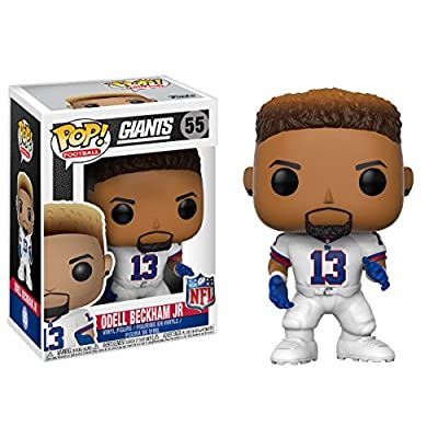 Funko POP NFL: Odell Beckham Jr. (Giants Color Rush) Collectible Figure: Funko Pop! Sports:: Toys & Games
