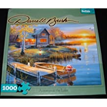 Darrell Bush Autumn at the Lake 1000 piece Puzzle 27X20 by Buffalo Games