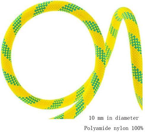 10.5 mm ロープの屋外の登山ロープ、パラシュートの静電気の安全懸垂下降ロープの家の火の脱出の救助ロープ,d,40m